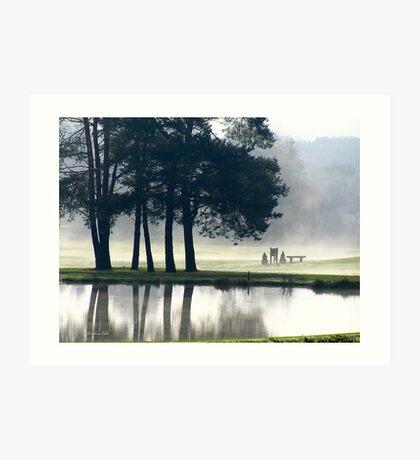 Genegantslet Golf Club Art Print