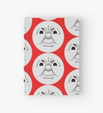 James (angry face) Hardcover Journal