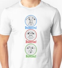 The 3 Big Engine's (The 3 D's) Unisex T-Shirt