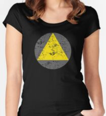 Legion Triangle Women's Fitted Scoop T-Shirt