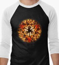 Pyrae Men's Baseball ¾ T-Shirt
