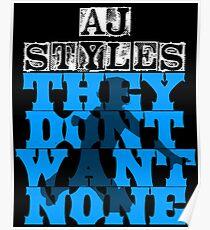 AJ Styles Poster
