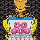 Homer Simpson with Goyard by elmindo