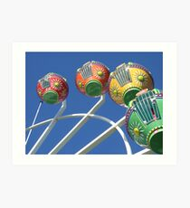 Ferris Wheel in the Sky Art Print