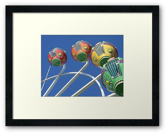 Ferris Wheel in the Sky by Sarah Mosbey