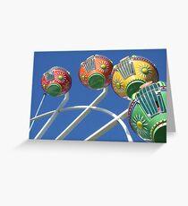 Ferris Wheel in the Sky Greeting Card