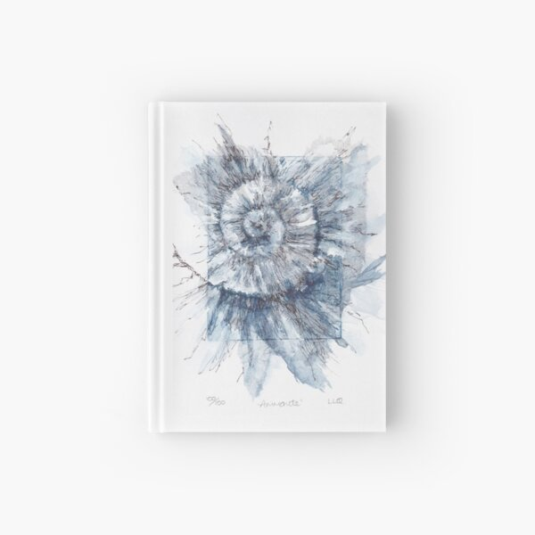 Ammonite no.100 - 100 ammonites project Hardcover Journal