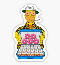 Homer Simpson Fear and Loathing Sticker