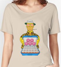 Homer Simpson Fear and Loathing Women's Relaxed Fit T-Shirt
