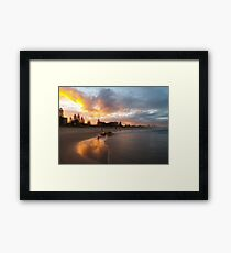 Miami Reflections Framed Print