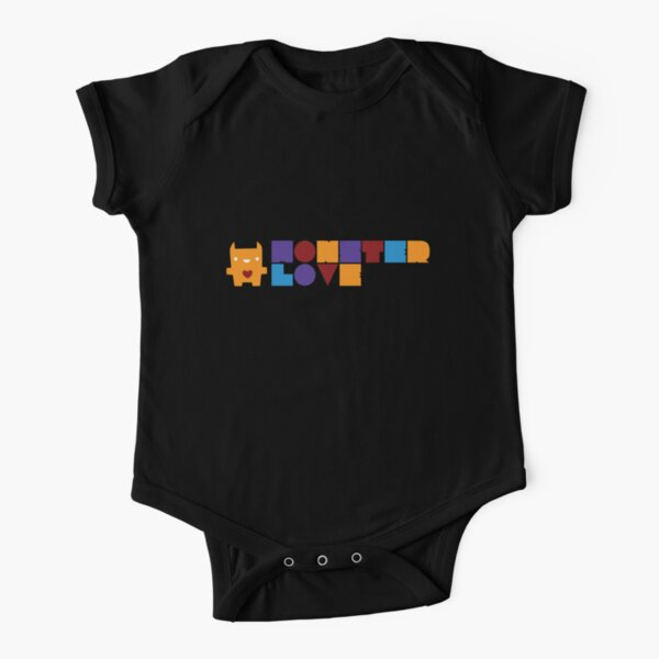 Monster Love: The Text Version Short Sleeve Baby One-Piece