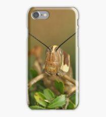 Grasshopper Tree Topper... iPhone Case/Skin