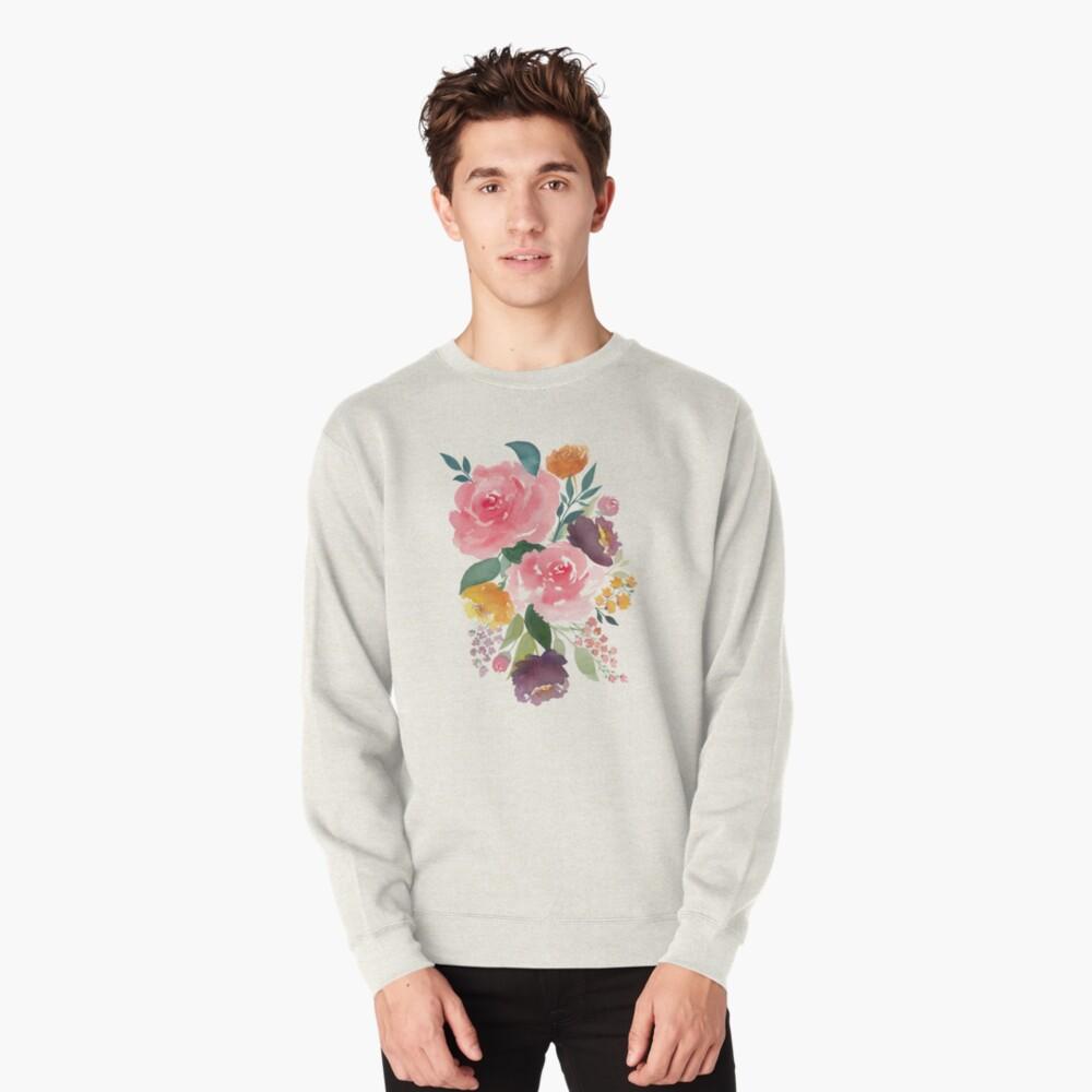 Flower bouquet Pullover Sweatshirt