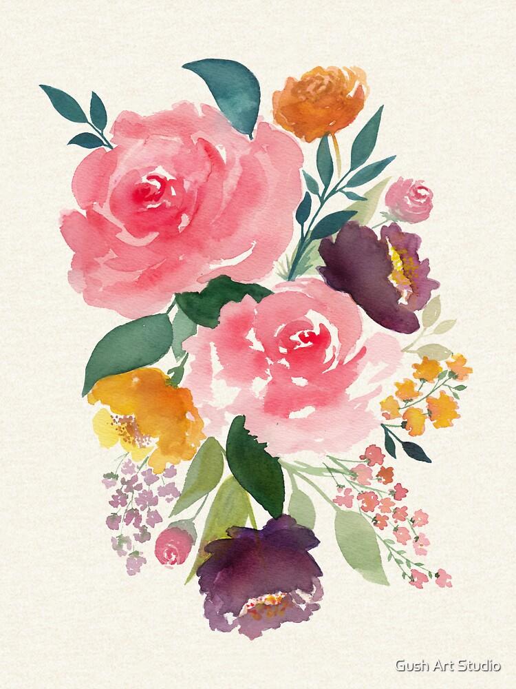 Flower bouquet by gusstvaraonica