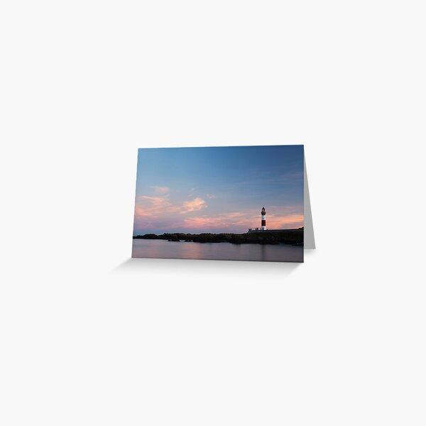 boddam lighthouse Greeting Card
