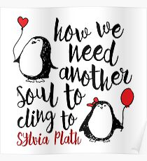 Penguin Love Quote Poster