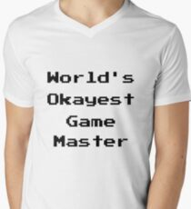 World's Okayest Game Master T-Shirt