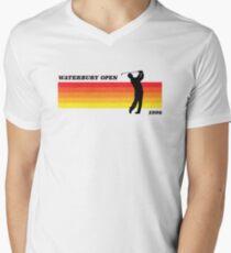 Waterbury Open | Happy Gilmore | Retro Style Men's V-Neck T-Shirt