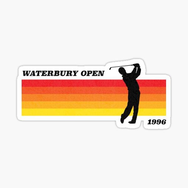 Waterbury Open | Happy Gilmore Inspired | Retro Style Sticker