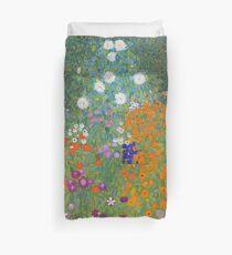 Gustav Klimt - Flower Garden, 1905 Duvet Cover