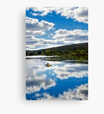 Fall Kayaking Canvas Print
