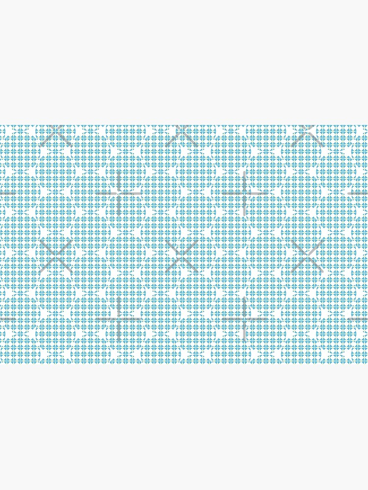 Circles pattern Blue-Yellow by PrintablesP