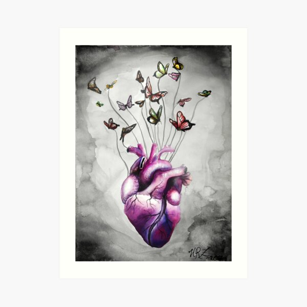 Light-hearted Art Print