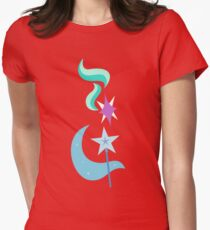 My little Pony - Starlight + Trixie Cutie Mark V3 Womens Fitted T-Shirt
