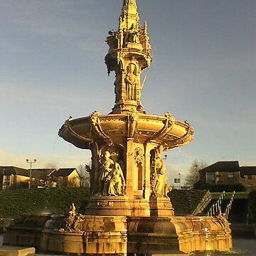 Glasgow Green Doulton Fountain by JPPreston
