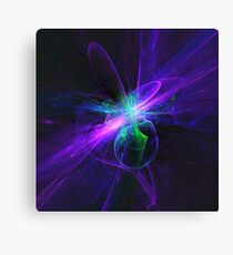 Beam Me Up, Scotty | Fractal Starscape Canvas Print