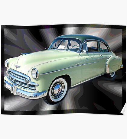'49 Chevy Straight Up Poster