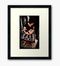 restitute Framed Print