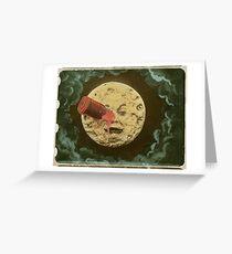 CINEMA / Georges Méliès / A Trip to the Moon (326003) Greeting Card