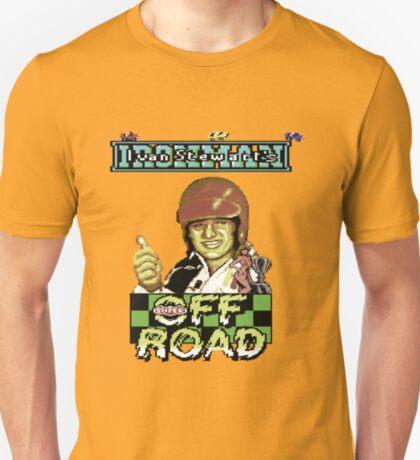 Gaming [C64] -  Ivan 'Ironman' Stewart's Super Off Road T-Shirt