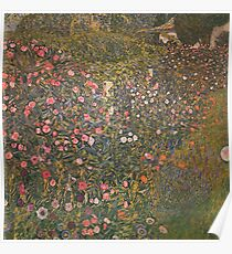 Gustav Klimt - Italian Horticultural Landscape Poster