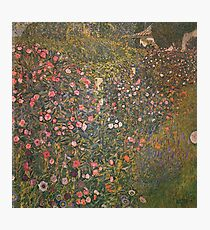 Gustav Klimt - Italian Horticultural Landscape Photographic Print
