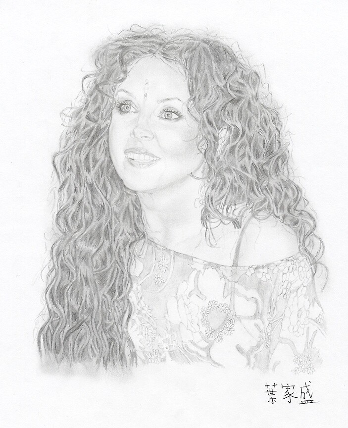 Sarah Brightman in signing event by CYDesign