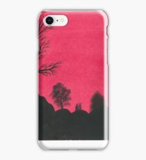 The Pink Sillohuette iPhone Case/Skin