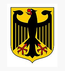 Germany Coat of Arms Photographic Print