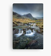 Deepdale Lower Falls Canvas Print