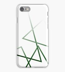 Abstract Lines, fade iPhone Case/Skin