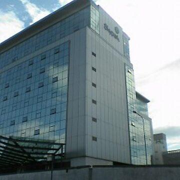 Glasgow SkyPak Reflection by JPPreston