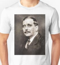 H. G. Wells, Literary Legend Unisex T-Shirt