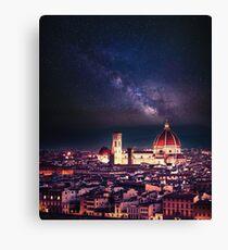Firenze Skyline Leinwanddruck