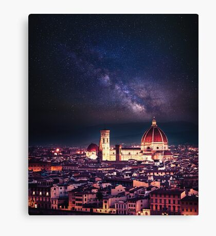 firenze skyline Canvas Print