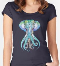 Octophant Fitted Scoop T-Shirt