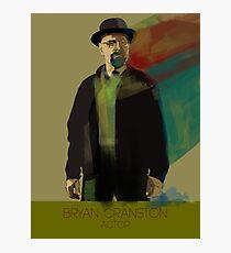 Bryan Cranston Photographic Print