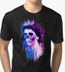 Queen of Skulls Tri-blend T-Shirt