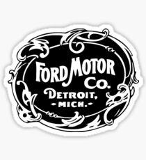 Ford Motor Co Vintage Logo Sticker