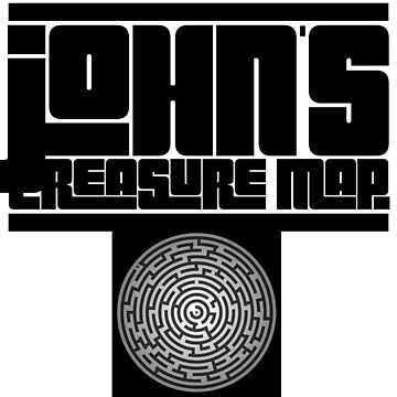 Johns treasure map - Wicked  by tees4gees